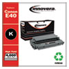 REMANUFACTURED BLACK HIGH-YIELD TONER CARTRIDGE, REPLACEMENT FOR CANON E40 (1491A002AA), 4,000 PAGE-YIELD