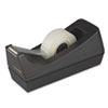 Picture of Desktop Tape Dispenser 1quot Core Weighted Non-Skid Base Black