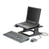 NOTEBOOK RISER WITH ADJUSTABLE HEIGHT, 13W X 13D X 4 TO 6H, BLACK