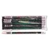 Decorated Wood Pencil, Teacher's Pencil, Hb #2, Black Brl, Dozen