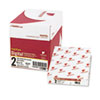 Fast Pack Digital Carbonless Paper, 8-1/2 x 11, White/Canary, 2500/Carton