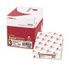 Fast Pack Digital Carbonless Paper, 8-1/2 X 11, Pink/canary/white, 2500/carton