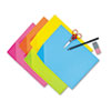 Picture of Colorwave Super Bright Tagboard 9 x 12 Assorted Colors 100 SheetsPack