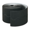 Bordette Decorative Border, 2 1/4 X 50' Roll, Black