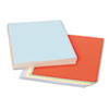 Picture of Assorted Colors Tagboard 12 x 9 BlueCanaryGreenOrangePink 100Pack