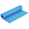 "Rainbow Duo-Finish Colored Kraft Paper, 35 lbs., 36"" x 1000 ft, Brite Blue"
