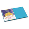 Construction Paper, 58 Lbs., 12 X 18, Turquoise, 50 Sheets/pack