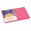 Construction Paper, 58 Lbs., 12 X 18, Hot Pink, 50 Sheets/pack