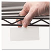 TAG,WIRE RACK,10/PK,WHT