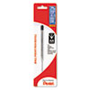 Refill For Pentel Client Ballpoint Pen, Medium, Black Ink