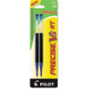 REFILL FOR PILOT PRECISE V5 RT ROLLING BALL, EXTRA-FINE POINT, BLUE INK, 2/PACK