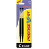 REFILL FOR PILOT PRECISE V7 RT ROLLING BALL, FINE POINT, BLACK INK, 2/PACK