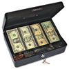 Select Spacious Size Cash Box, 9-Compartment Tray,