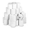 Paper Rolls, One Ply Teller Window/financial, 3 X 150 Ft, White, 50/carton