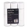 "Paper Rolls, Two Ply Receipt Rolls, 2 1/4"" x 90 ft, White/White, 12/Pack"