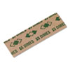 Tubular Coin Wrappers, Dimes, $5, Pop-Open Wrappers, 1000/pack