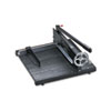 Commercial Stack Paper Cutter, 350 Sheet Capacity, Wood Base, 16 X 20