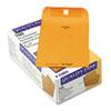 Park Ridge Kraft Clasp Envelope, #55, 6 x 9, Brown Kraft, 100/Box