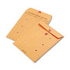 Brown Kraft String & Button Interoffice Envelope, 9 X 12, 100/carton
