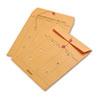 Brown Kraft String & Button Interoffice Envelope, 10 X 13, 100/carton