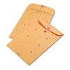 Picture of Brown Kraft String amp Button Interoffice Envelope 10 x 15 100Carton