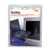 OneStep CRT Screen Cleaning Pads, 5 x 5, Cloth, White, 100/Box