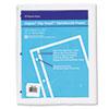 Rip Proof 20-Lb, Reinforced Filler Paper, Unruled, 11 X 8-1/2, We, 100 Sheets/pk