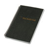 Class Record Book, 6-Day/6-Week Format, 9-1/2 x 5-3/4, Black, 120 Pages