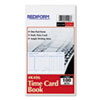 Picture of Employee Time Card Daily Two-Sided 4-14 x 7 100Pad