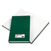 Emerald Series Account Book, Green Cover, 500 Pages, 12 1/4 X 7 1/4