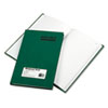 Emerald Series Account Book, Green Cover, 200 Pages, 9 5/8 X 6 1/4