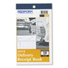 Delivery Receipt Book, 6 3/8 X 4 1/4, Two-Part Carbonless, 50 Sets/book