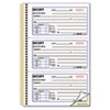 Money Receipt Book, 5 X 2 3/4, Two-Part Carbonless, 225 Sets/book