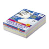 Array Colored Bond Paper, 24lb, 8-1/2 x 11, Assorted Marble Pastels, 500 Shts/Rm