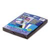 CARD,STK,8.5X11,1C/PK,BK