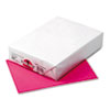 Kaleidoscope Multipurpose Colored Paper, 24lb, 8-1/2 X 11, Hot Pink, 500 Shts/rm