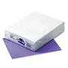 Kaleidoscope Multipurpose Colored Paper, 24lb, 8-1/2 x 11, Violet, 500 Shts/Rm
