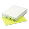 Kaleidoscope Multipurpose Colored Paper, 24lb, 8-1/2 x 11, Hyper Yellow, 500/Rm
