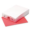 Kaleidoscope Multipurpose Colored Paper, 24lb, 8-1/2 x 11, Coral Red, 500/Ream