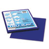 Tru-Ray Construction Paper, 76 Lbs., 9 X 12, Royal Blue, 50 Sheets/pack