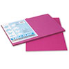 Tru-Ray Construction Paper, 76 Lbs., 12 X 18, Magenta, 50 Sheets/pack