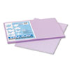 Tru-Ray Construction Paper, 76 Lbs., 12 X 18, Lilac, 50 Sheets/pack