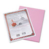 Riverside Construction Paper, 76 Lbs., 9 X 12, Pink, 50 Sheets/pack