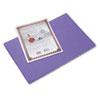 Riverside Construction Paper, 76 Lbs., 12 X 18, Violet, 50 Sheets/pack