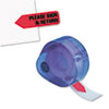 Arrow Message Page Flags In Dispenser, please Sign And Return, Red, 120 Flags