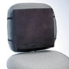 Back Perch W/fleece Cover, 13w X 2-3/4d X 12-1/2h, Black, 10/carton