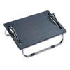 Ergo-Comfort Adjustable Footrest, 18-1/2w x 11-1/2d x 8h, Black 2106