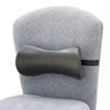Lumbar Support Memory Foam Backrest, 14-1/2w X 3-3/4d X 6-3/4h, Black