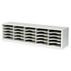 E-Z Sort Steel Mail Sorter Module, Light Gray Steel