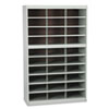 Steel Project Center Floor Organizer, 30 Pockets, 37 1/2 X 15 3/4 X 60